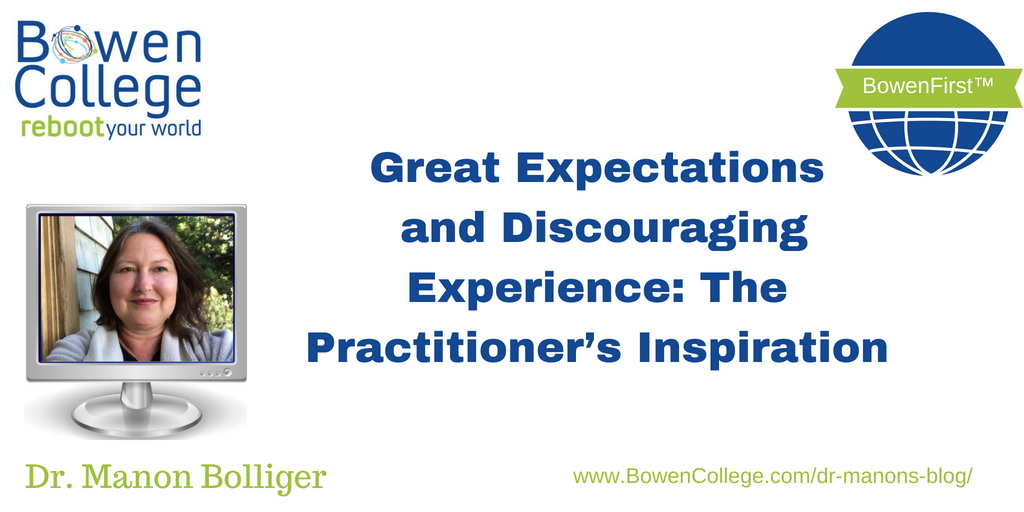 Great Expectations and Discouraging Experience: The Practitioner's Inspiration