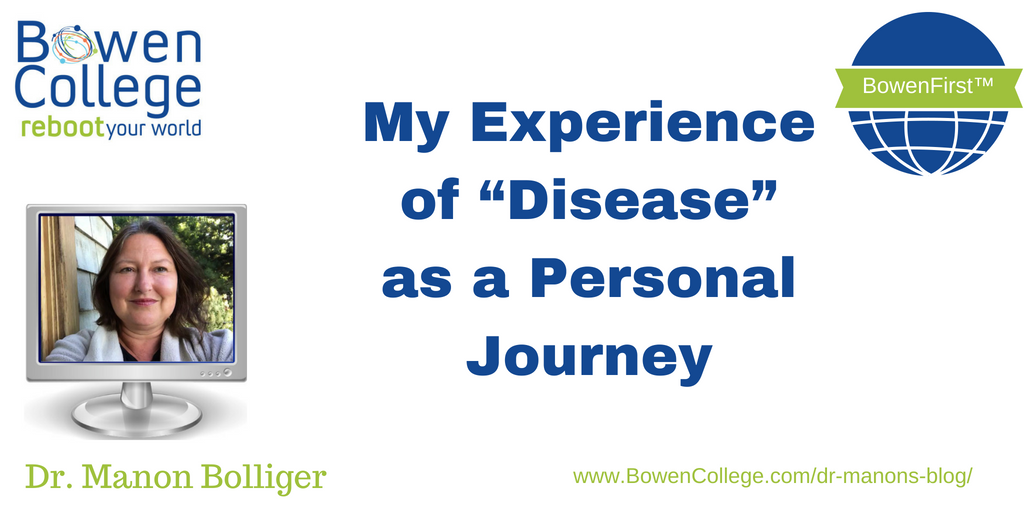 "My Experience of ""Disease"" as a Personal Journey"