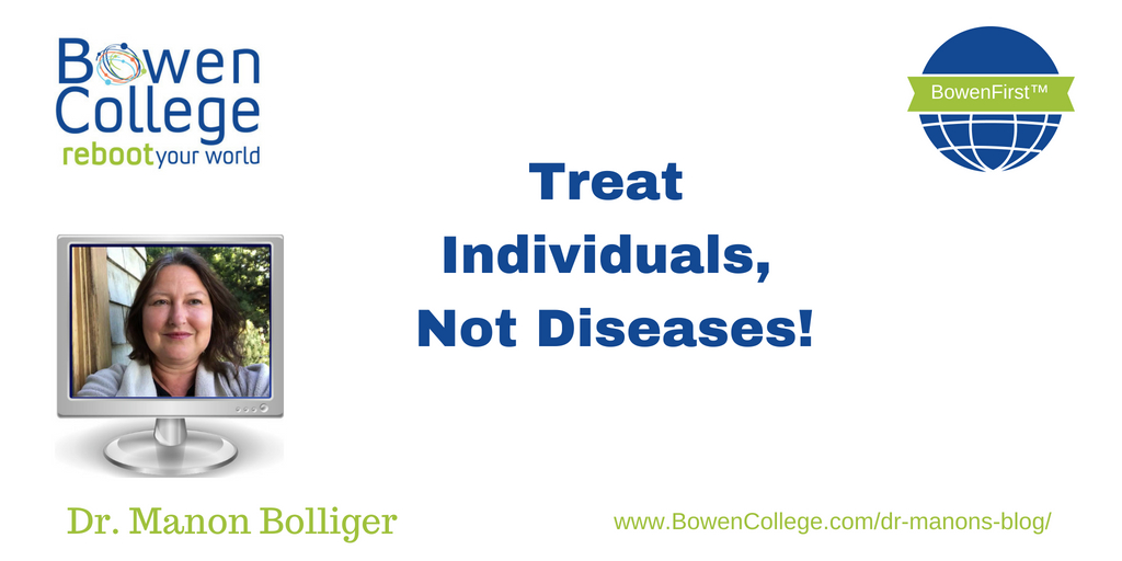 Treat Individuals, Not Diseases!