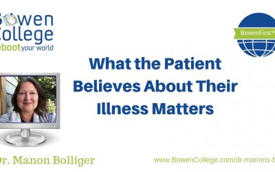 What the Patient Believes About Their Illness Matters