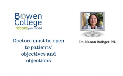 Doctors must be open to patients' objectives and objections