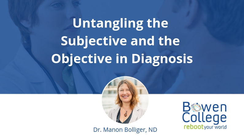 Untangling the Subjective and the Objective in Diagnosis