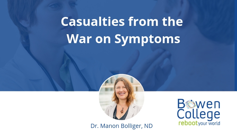 Casualties from the War on Symptoms