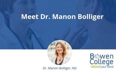 Meet Dr. Manon Bolliger