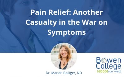 Pain Relief: Another Casualty in the War on Symptoms