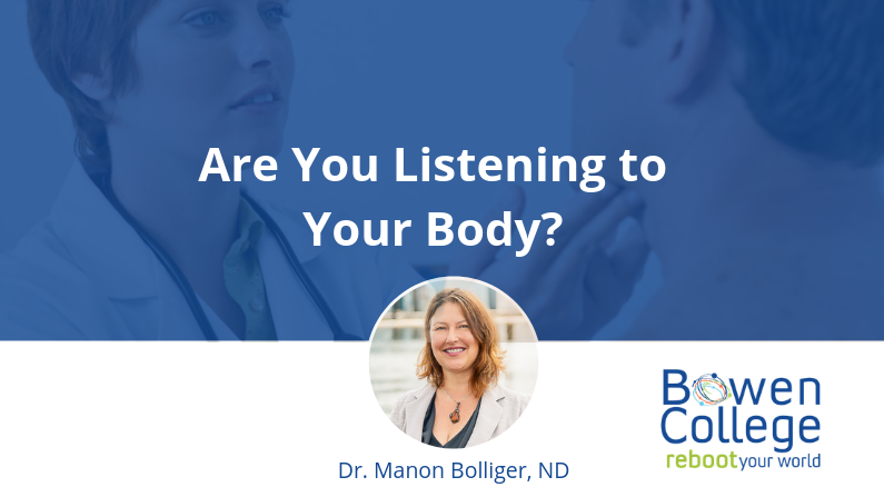 Are You Listening to Your Body?
