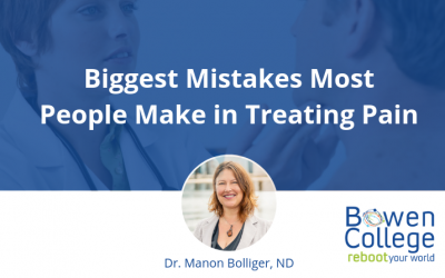 Biggest Mistakes Most People Make in Treating Pain
