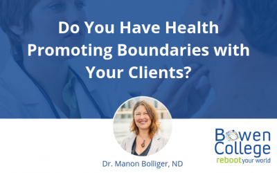 Do You Have Health Promoting Boundaries with Your Clients