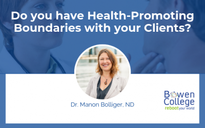 Do you have Health-Promoting Boundaries with your Clients?