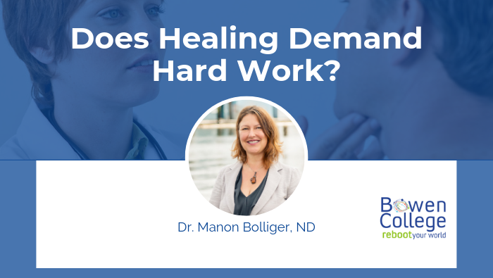 Does Healing Demand Hard Work?