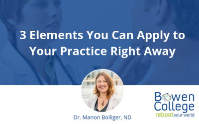 3 Elements You Can Apply to Your Practice Right Away