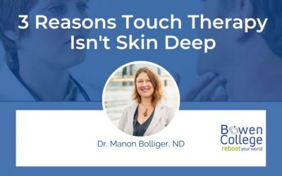 3 Reasons Touch Therapy Isn't Skin Deep