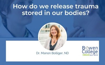 How do we release trauma stored in our bodies?