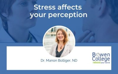 Stress affects your perception