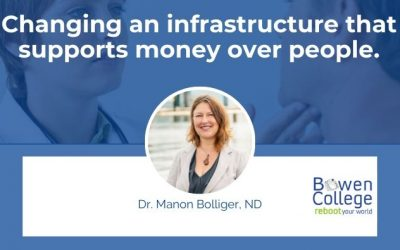 Changing an infrastructure that supports money over people