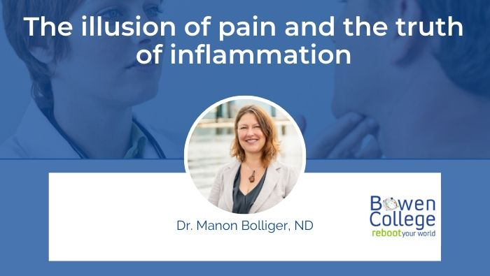 The illusion of pain and the truth of inflammation by Dr Manon Bolliger, ND