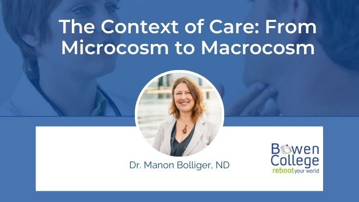 The Context of Care: From Microcosm to Macrocosm