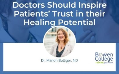 Doctors Should Inspire Patients' Trust in their Healing Potential