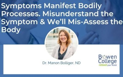 Symptoms Manifest Bodily Processes. Misunderstand the Symptom and We'll Mis-assess the Body