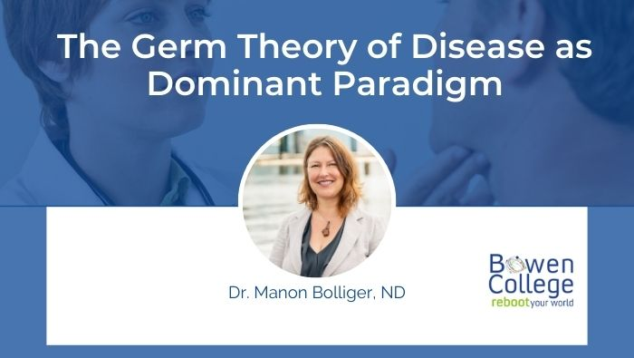 The Germ Theory of Disease as Dominant Paradigm