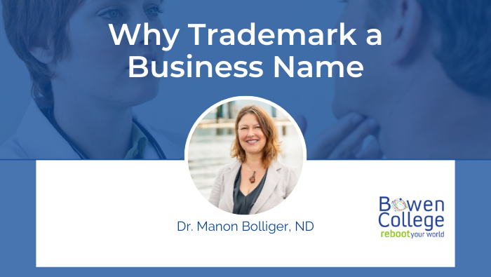 why Trademark a business name