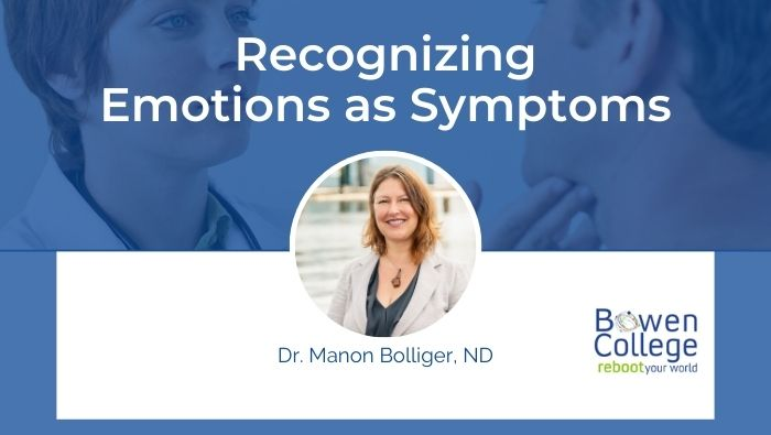 Recognizing Emotions as Symptoms