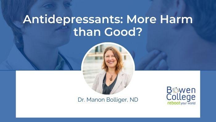 Antidepressants More Harm than Good