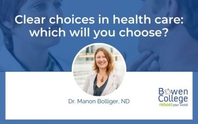 Clear choices in health care: which will you choose?