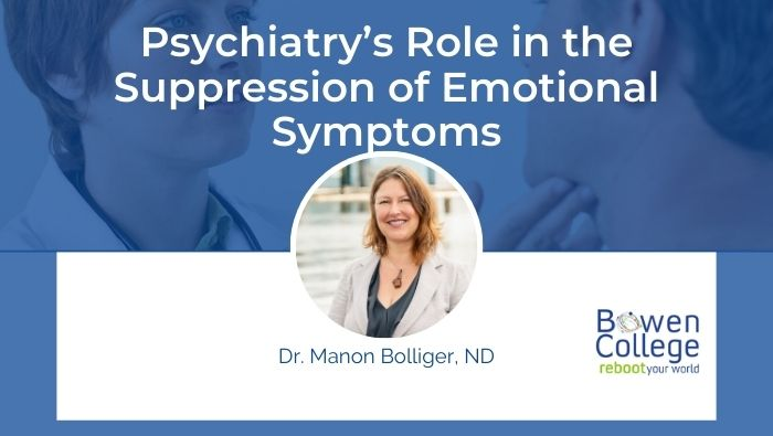 Psychiatry's Role in the Suppression of Emotional Symptoms