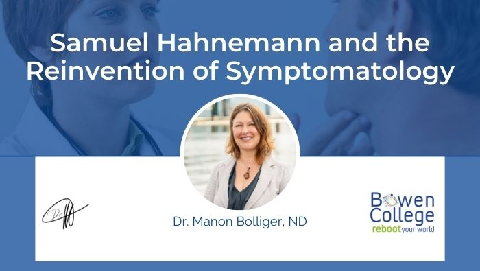 Samuel Hahnemann and the Reinvention of Symptomatology