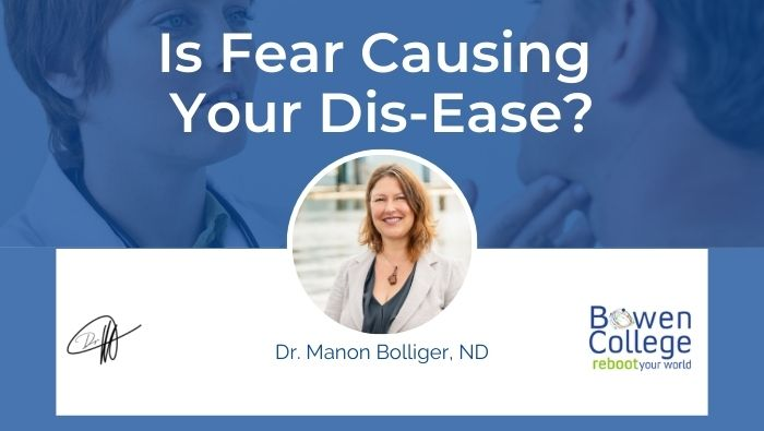 Is Fear Causing Your Dis-Ease