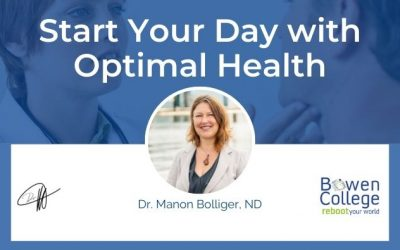 Start Your Day with Optimal Health