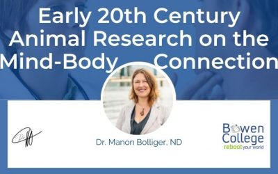 Early 20th Century Animal Research on the Mind-Body Connection